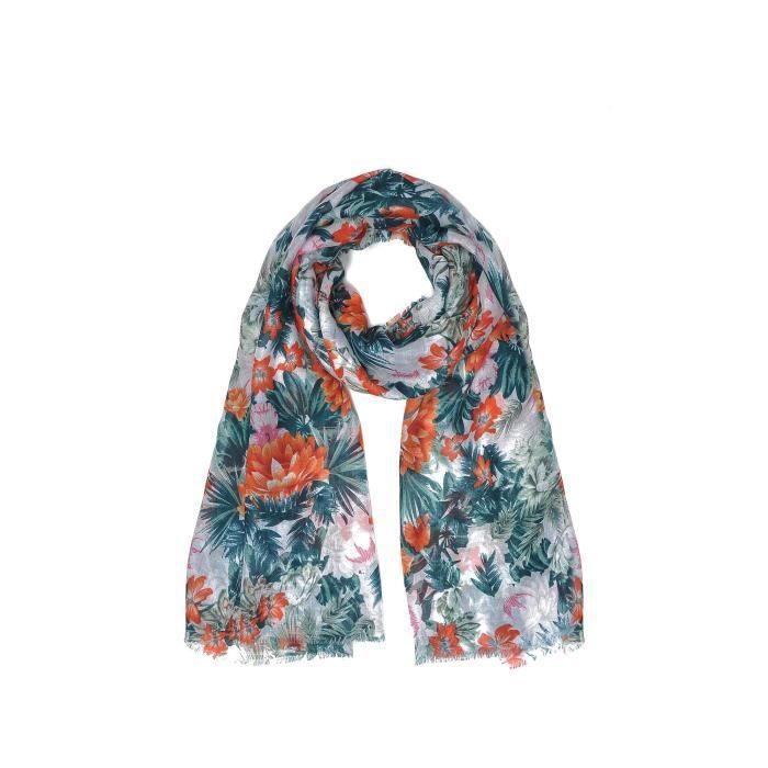750d2fa4283 Troll Echarpe multicolore Femme - Achat   Vente echarpe - foulard ...
