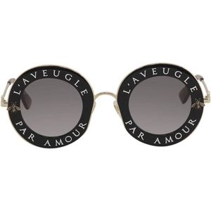 6ac1e0705db5e1 ... LUNETTES DE SOLEIL Lunettes de soleil Gucci L aveugle par amour GG011  ...