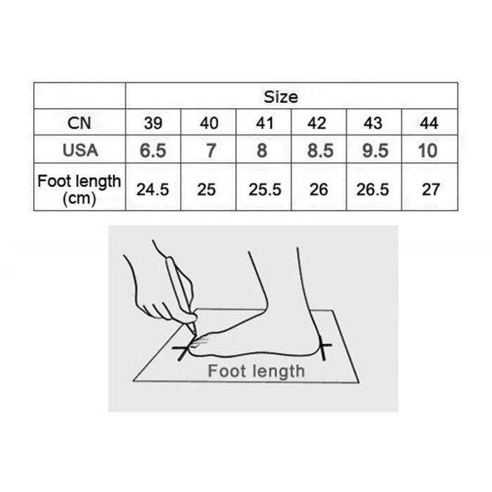 Basket Chaussures de sport pour hommes Chaussures de course légère MfI0MV6P