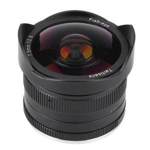 OBJECTIF ROMANTIC 7.5mm F / 2.8 Fisheye 180 ° Objectif gran