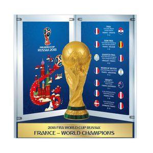 TROPHÉE - MÉDAILLE Réplique Trophée Champions du Monde 2018 Parcours