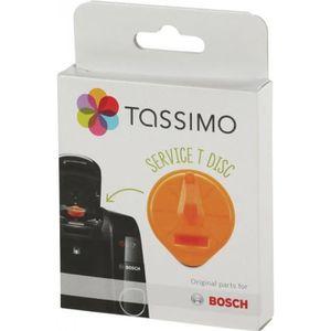 PIÈCE PETIT DÉJEUNER  T-Disc de service orange avec code barres cafetier