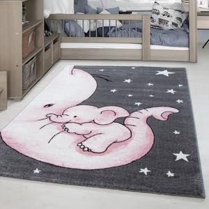 TAPIS Tapis enfant Elephant Star motif enfants chambre b