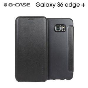HOUSSE - ÉTUI Folio G-Case Classe Noir pour Samsung Galaxy S6 Ed