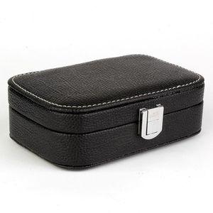 BOITE A BIJOUX Petite Boîte à Bijoux Portable Coffret à Rangement