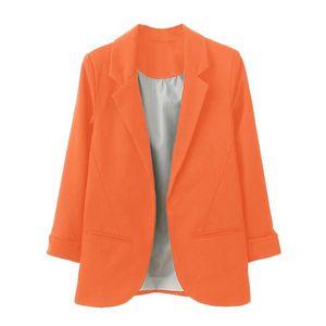 outlet store eef95 8744d VESTE Femmes OL style Nine Quarter Blazer manches revers ...