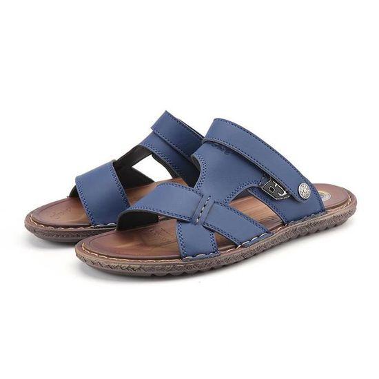 6769b6701f15 De Occasionnelles Créatif La Hommes Nouveaux Été Sandales Simple Mode 2018  Chaussures 1p6TnvE