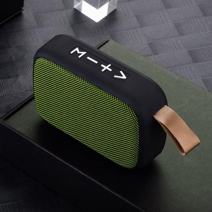 Portable Sans Fil Bluetooth Stéréo Carte Sd Fm Haut-parleur Pour Smartphone Tablet Lapt @5338