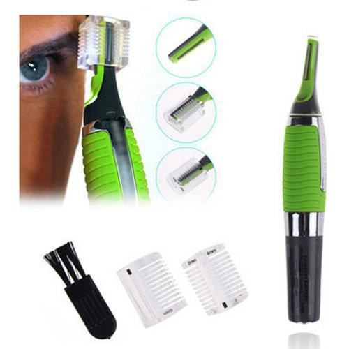 Men's All-in-one Personal Trimmer Shaver Nose Ear Neck Eyebrow Hair Trimmer Grooming Remover Kit Battery Powered