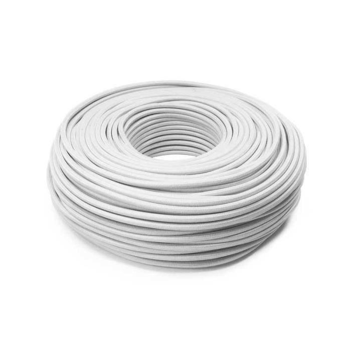 Cable Electrique Textile Achat Vente Pas Cher
