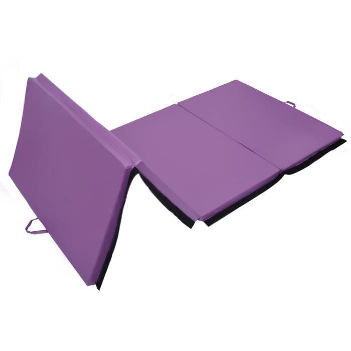 Tapis De Sol Gymnastique Fitness Pliable 305 X 120 X 5 Cm