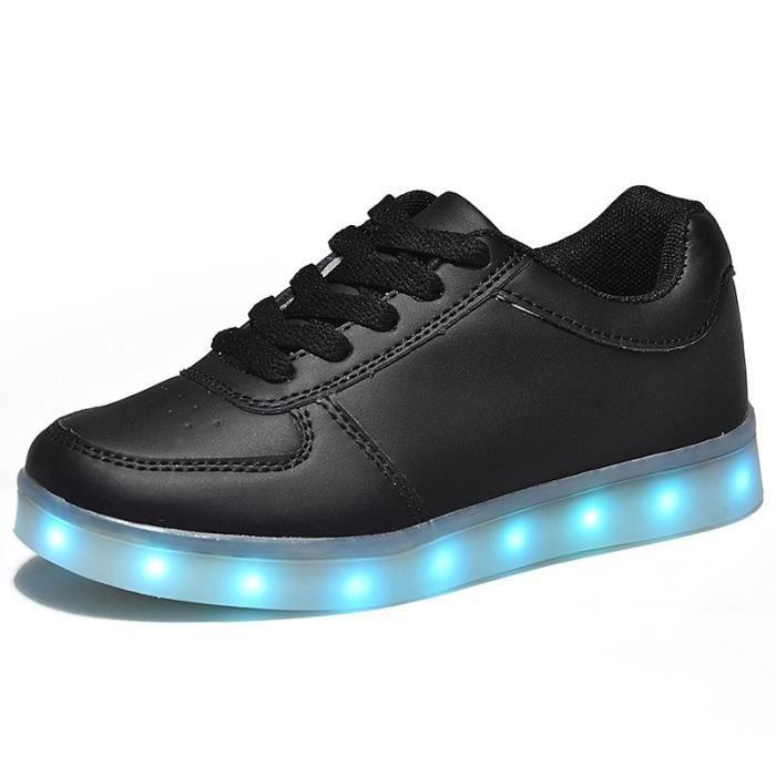 Lumière Led enfants chaussures bébé colorful Led lumineuse chaussures recharge USB garçons filles sneakers enfants chaussures