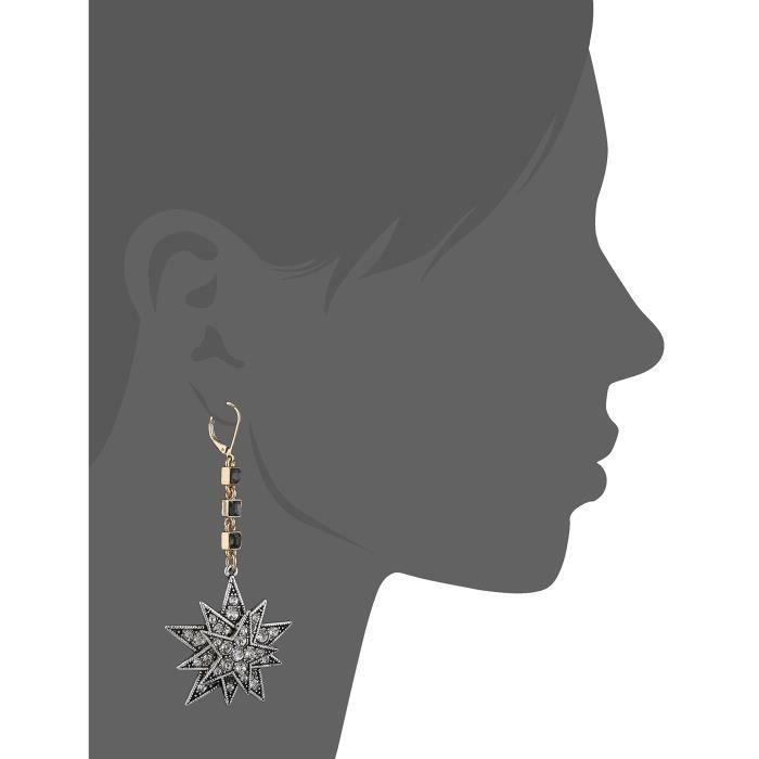 Star Drop Earrings P7NI3