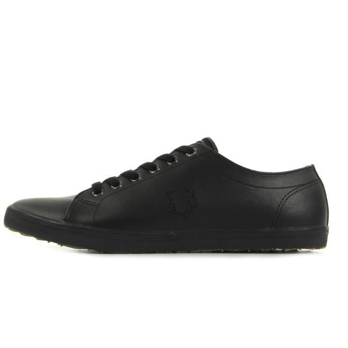 Baskets Leather Perry Kingston Fred Black wq81O