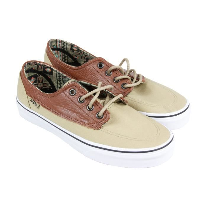 Vans Mens Brigata Low Top Sneakers Lace Up Mode SL4YZ 40 1-2 hHPzWn
