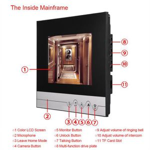 interphone interieur sans fil achat vente interphone. Black Bedroom Furniture Sets. Home Design Ideas