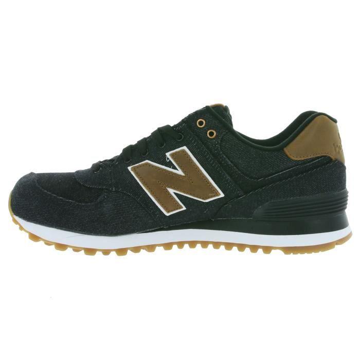 New Balance 574 Hommes Chaussures Noir ML574TXA
