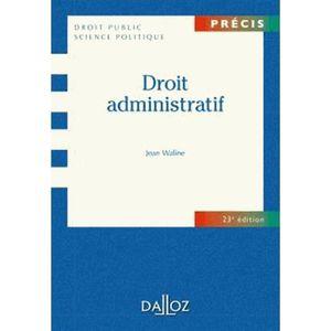 LIVRE DROIT PUBLIC Droit administratif