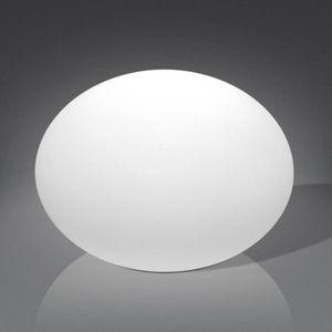 DÉCORATION LUMINEUSE Ovale Lampe Led multicolore spherique ecrase par i