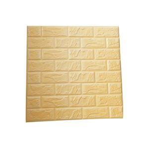 Papier Peint Brique Beige Achat Vente Pas Cher