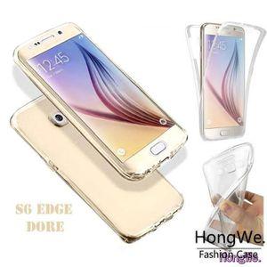 COQUE - BUMPER Samsung Galaxy S6 Edge (64 Go)  :Housse coque sili