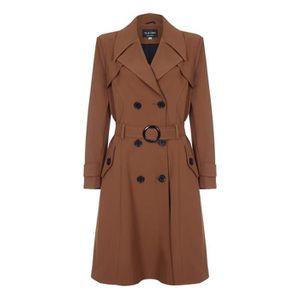 Imperméable - Trench De La Creme - Trench-coat ceinturé à la taille Cei d0d71f75276