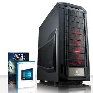 UNITÉ CENTRALE  VIBOX Submission 40 PC Gamer Ordinateur avec War T
