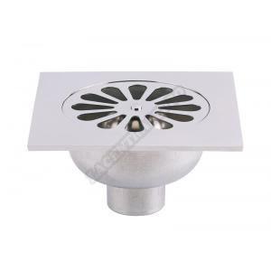 siphon de sol inox 150x150 cloche de 107 vacuatio achat vente siphon de lavabo siphon de. Black Bedroom Furniture Sets. Home Design Ideas