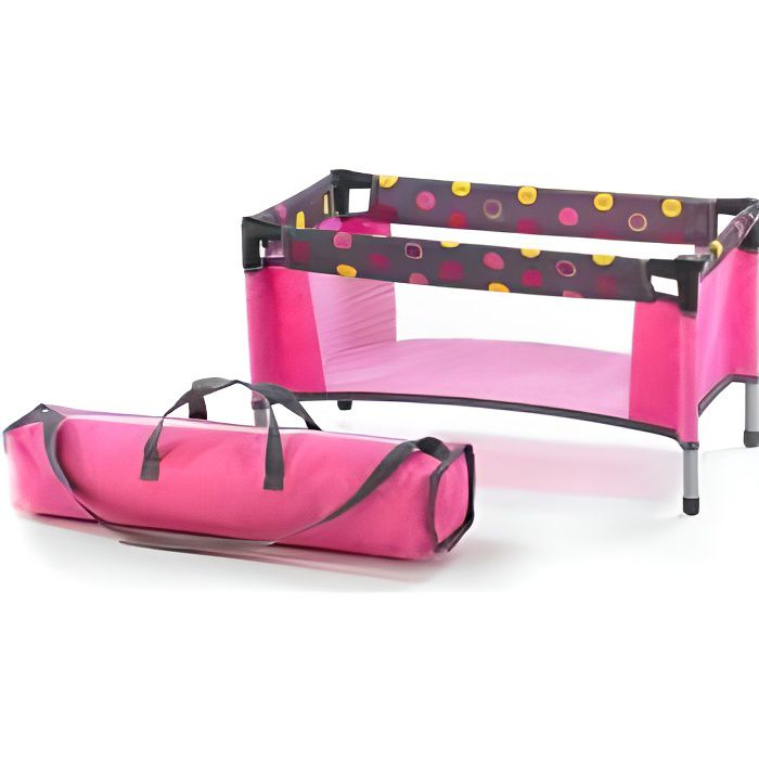 lit pliant poupee achat vente pas cher. Black Bedroom Furniture Sets. Home Design Ideas