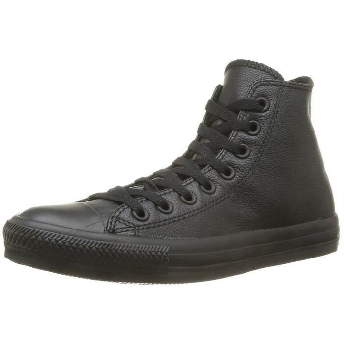 baskets mode ct as leather mono femme converse ctas hi mono lth f 40 Noir