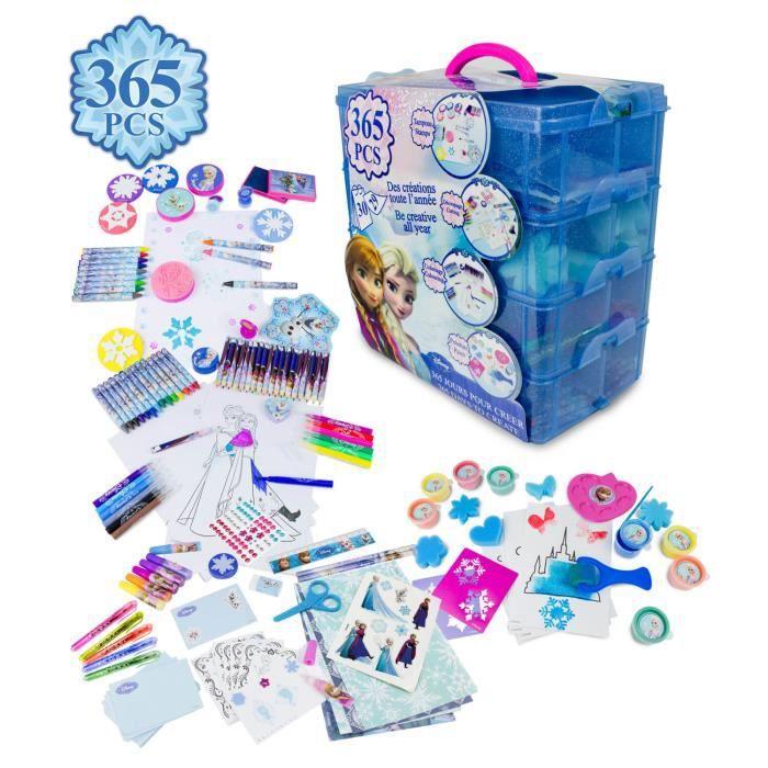 Frozen coffre d 39 activit 365 jours tampons d coupage - Jeux de fille de violetta ...