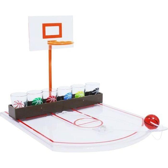 6d2ae0cf239cc Jeu à à boire terrain de basket-ball jeu alcool boisson   Dimensions du  terrain de jeu   31 x 22