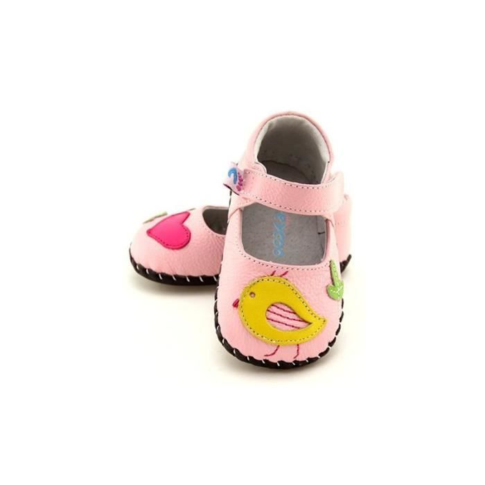 53c0861e71854 FREYCOO - Chaussures premiers pa... Rose Rose - Achat   Vente babies ...