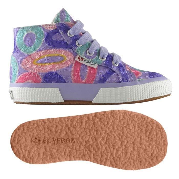Chaussures 2795-COTFANEMBRJ pour fille, style classique, imprimé à fleurs