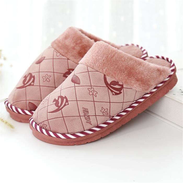 Léger Chaussure Hiver Couleur Antidérapant Chaud Femme Durable Chausson Coton Classique De Confortable Ylx362 Plus Cartoon Chaussons wqzx6O7B