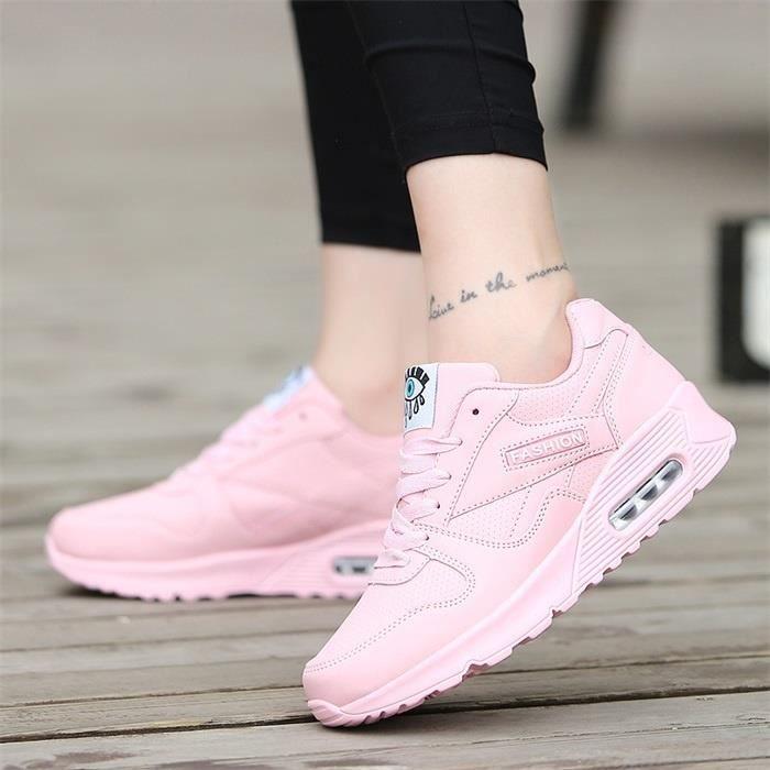 chaussures de sport de femmes,40,Rose