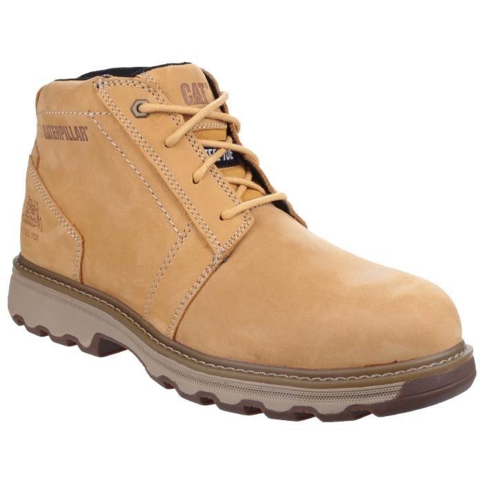 57f5874e3c12f4 Caterpillar Parker - Chaussures de sécurité - Adulte mixte Jaune ...