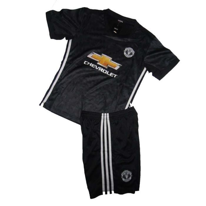 tenue de foot MU noir