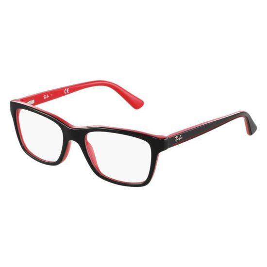 7768904b09b81 Lunettes de vue Ray Ban RY1536 -3573 Noir - Rouge - Achat   Vente lunettes  de vue Lunettes de vue Ray Ban RY... Homme Adulte - Cdiscoun