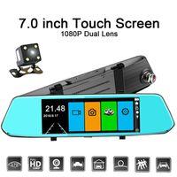 RADAR DE RECUL FHD1080P 7 Pouces Monitor Caméra Recul Car DVR Das