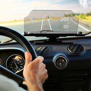 AFFICHAGE PARE-BRISE Affichage Pare-Brise Tête Haute Voiture GPS Téléph