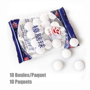 PRODUIT INSECTICIDE 10 Packs Boules de Naphtaline Aromanthème Boules A