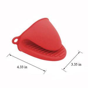 PINCE DE SERVICE Clip alimentaire 1 paire de pince en silicone rési