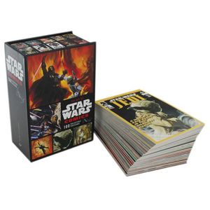 CARTE A COLLECTIONNER Star Wars Comics 100 Collectible Postcards