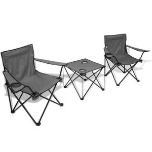 chaise camping cars achat vente pas cher. Black Bedroom Furniture Sets. Home Design Ideas