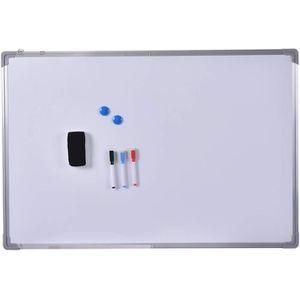 MEUBLE INFORMATIQUE Tableau blanc magnétique inscriptible effaçable 70