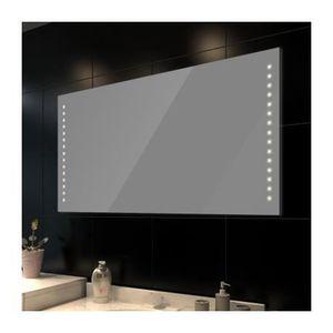 miroir de salle de bain avec clairage achat vente miroir de salle de bain avec clairage. Black Bedroom Furniture Sets. Home Design Ideas