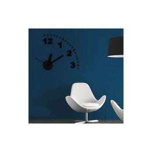 HORLOGE - PENDULE Horloge Murale DIY Do it yourself Papillons Rouges