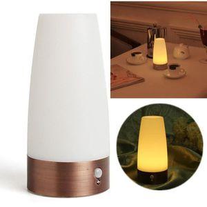 LAMPE A POSER GZ* Lampe Table Chevet LED Sans Fil Capteur Contrô