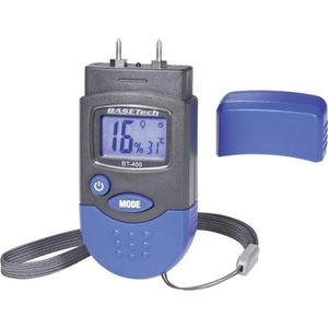 Capteur d'humidité Humidimètre pour matériaux Basetech BT-400 invasif